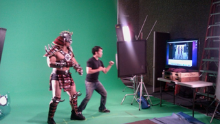 Illustration for article titled A Behind The Scenes Look at Mortal Kombat Motion Capture