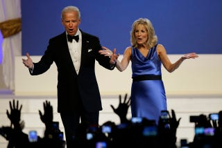 Illustration for article titled Scoring the Inaugural Dance-Off: Bidens Almost Hump on the Dance Floor and Obamas are Swingers