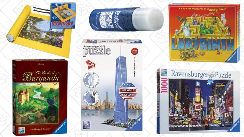 Ravensburger Puzzle and Board Game Sale | Amazon
