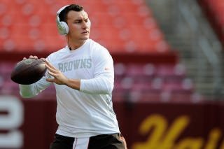 """Illustration for article titled Johnny Manziel Files For """"Johnny Cleveland"""" Trademark"""