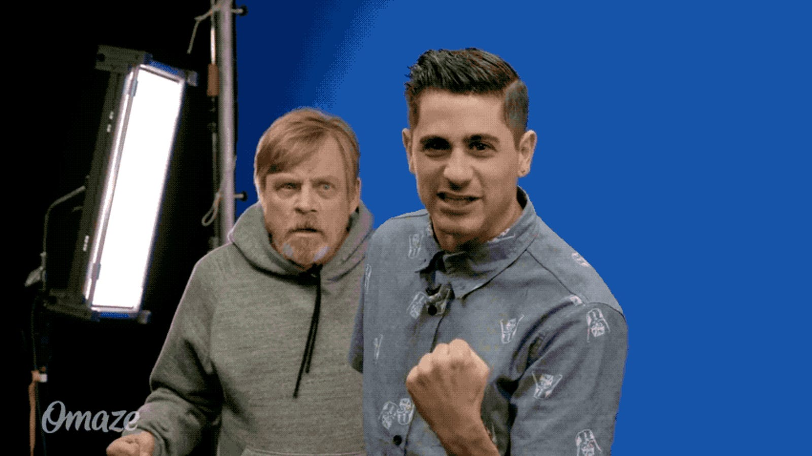 Here Are a Bunch of People Mark Hamill Freaked Out During 'Force For Change' Promo