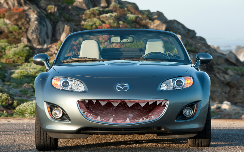 Illustration for article titled Shark Miata