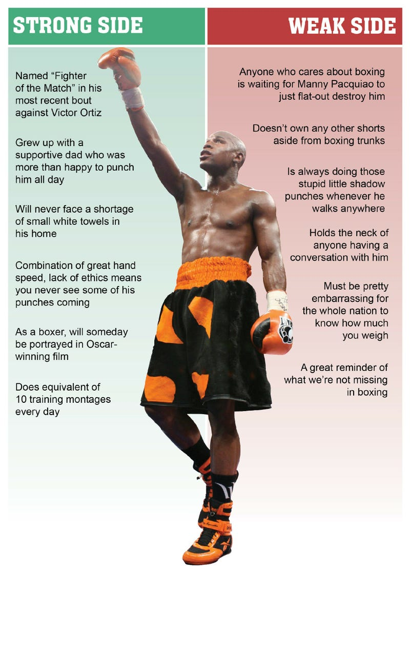 Illustration for article titled Floyd Mayweather