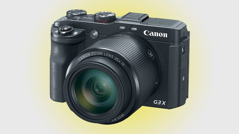 Illustration for article titled Canon G3X: My Zoom is Longer Than Your Zoom