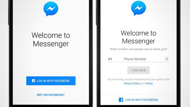 You Can Now Use Facebook Messenger without a Facebook Account
