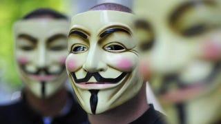 Illustration for article titled Anonymous prueba su propia medicina: hackean su cuenta de Twitter