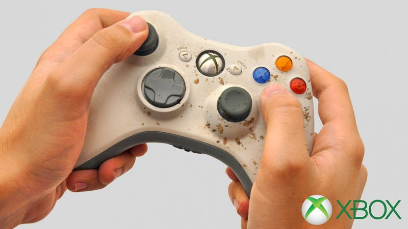 Illustration for article titled A Major Advantage: Microsoft Has Released A New Xbox Controller With Pre-Mushed-In Buttons That You Can Make Your Friend Use Since It's Your House