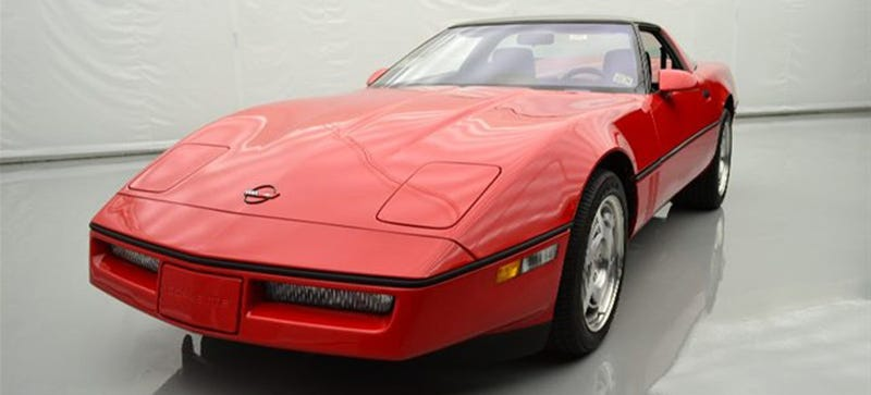 Illustration for article titled I Need This Perfect 126-Mile 1990 Corvette ZR-1 In My Life