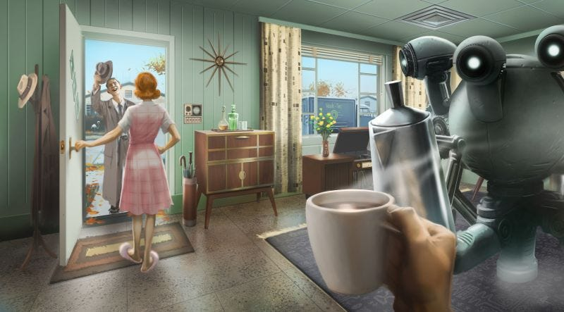 Illustration for article titled 'The Big Erect One Looks Weird': Adding Dicks To Fallout 4