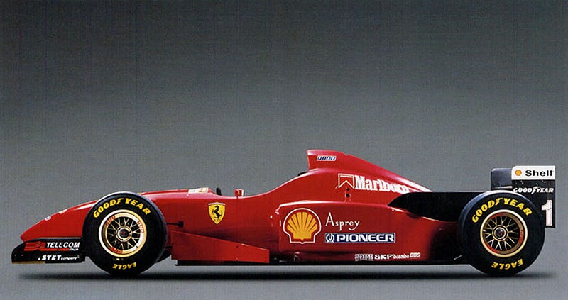 Wished You Could Have Bought A 1990s Ferrari F1 Car Here