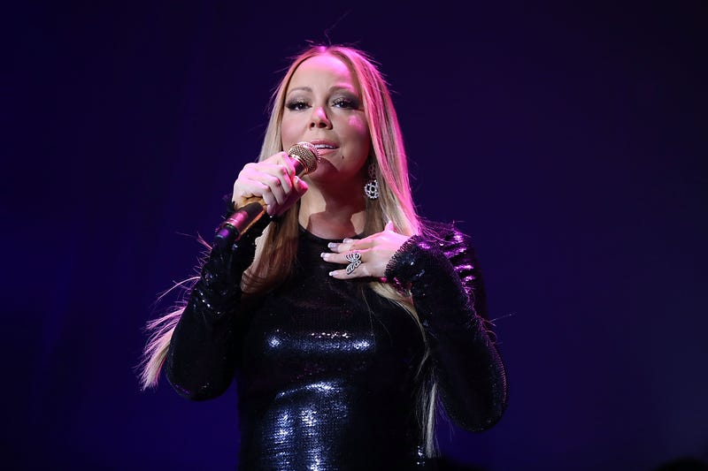 Mariah Carey performing Jan. 12, 2016, in Hollywood, Calif.Joe Scarnici/Getty Images for Qatar Airways