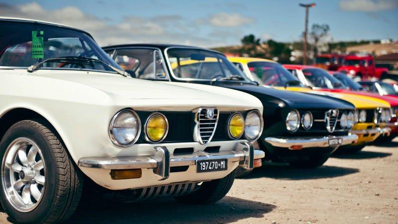Illustration for article titled Alfa Romeo GTV 1750