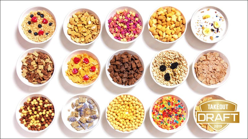 Illustration for article titled The Takeout's fantasy food draft: Best breakfast cereal