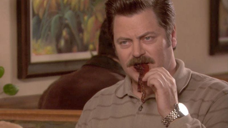 Ron Swanson, presumably, doesn't care