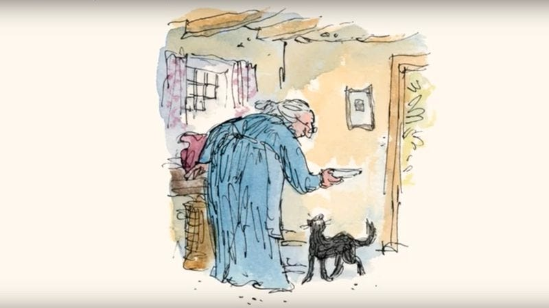 """The Tale Of Kitty-In-Boots"" by Beatrix Potter (Illustration: Quentin Blake)"