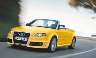 Illustration for article titled Audi RS4 Cabrio Coming to America