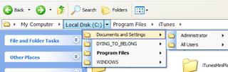Illustration for article titled QTAddressBar Brings Vista Explorer's Address Bar to XP