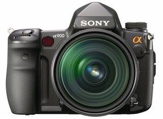 Illustration for article titled Sony a900 24.6-Megapixel Full-Frame DSLR Official, Only $3000