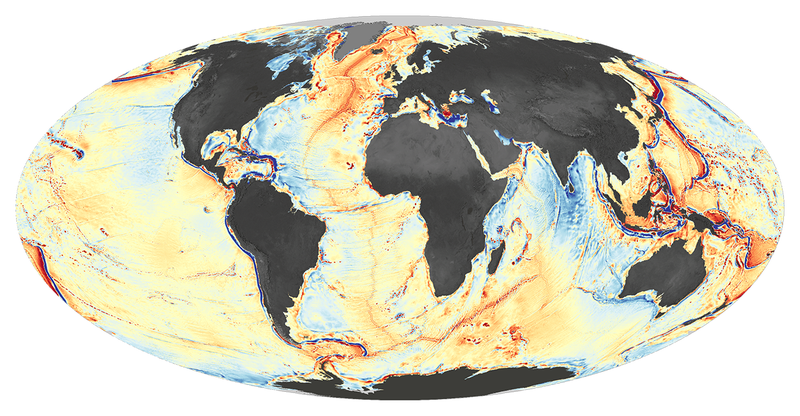 Heres The Most Complete Ocean Floor Map Ever Made - World map how many oceans