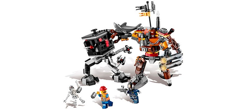 Illustration for article titled Lego has started slowly revealing their Lego Movie sets