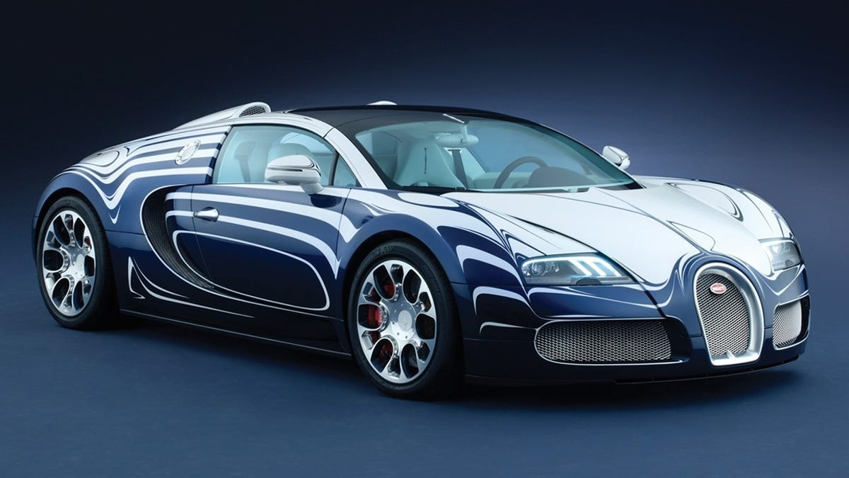 Bugatti veyron special edition
