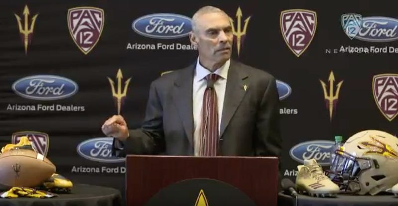 6 awkward moments from Herm Edwards' introductory presser at Arizona State