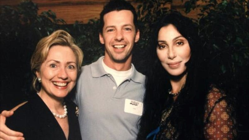 Illustration for article titled Sean Hayes Turned Back Time With the Help of Hillary Clinton and Cher