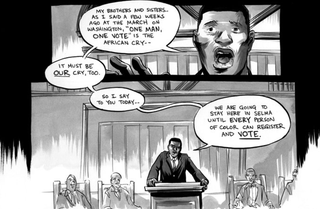 Illustration for article titled Civil Rights Graphic Novel March: Book 3 Is the First Comic Book to Win a National Book Award