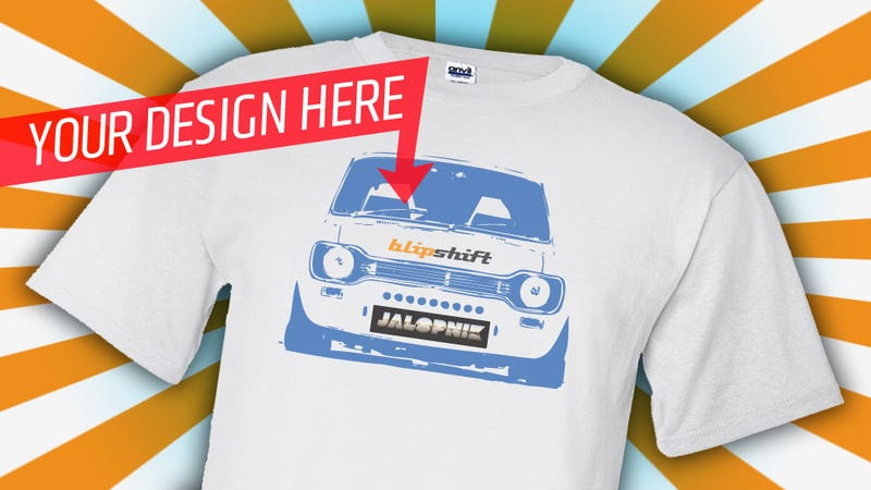 Illustration for article titled Help Blipshift Create The Next Great Jalopnik T-Shirt