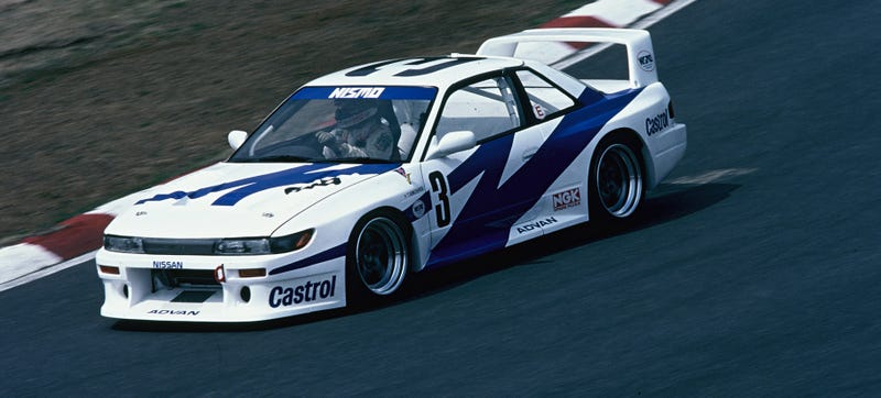 Illustration for article titled Race Car Paint Inspiration: 1993 Nissan Silvia