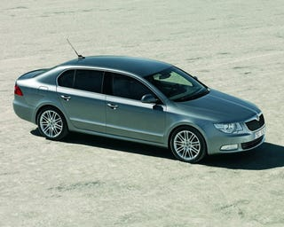 Illustration for article titled The Skoda Superb Is More Than Adequate