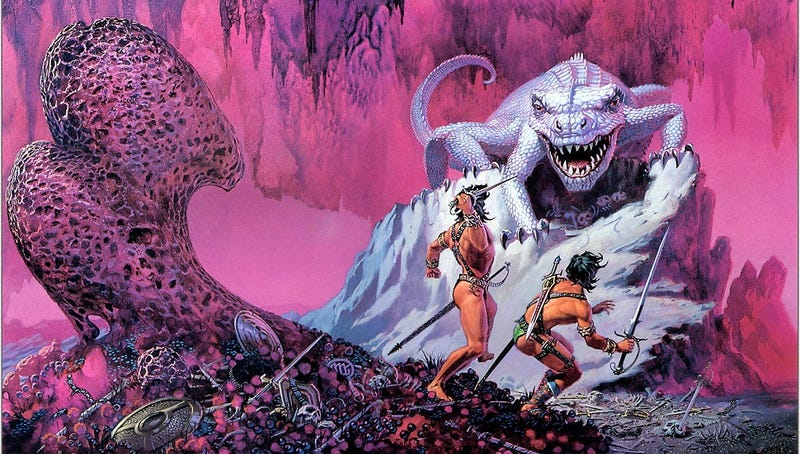 """Illustration for article titled What ever happened to the """"advanced civilization gone barbaric"""" story?"""