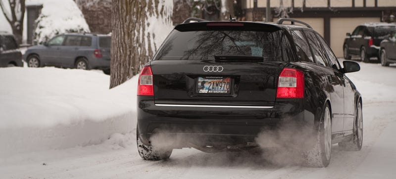 Illustration for article titled The B6 Audi A4 Quattro Is An Executive Car Without The Suit