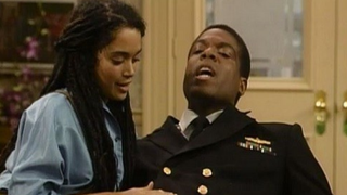Lisa Monet and Joseph C. Phillips on The Cosby ShowYouTube screenshot
