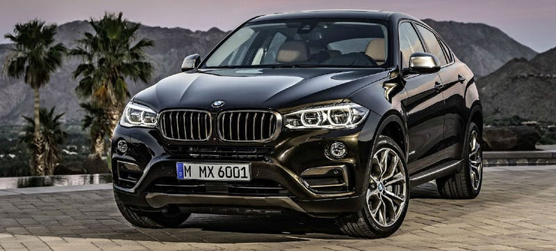 Illustration for article titled Here's Your 2015 BMW X6