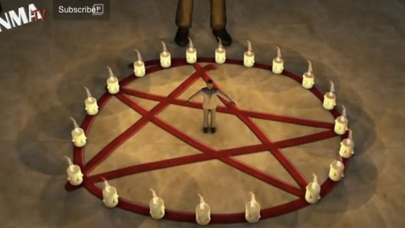 Illustration for article titled Breaking Bad's final season will include Satanic rituals, death-by-ATM, according to Taiwanese animators