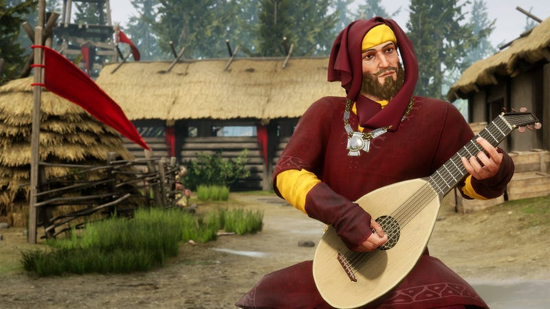 Illustration for article titled Mordhau Players Are Using Bots To Play The Lute Better