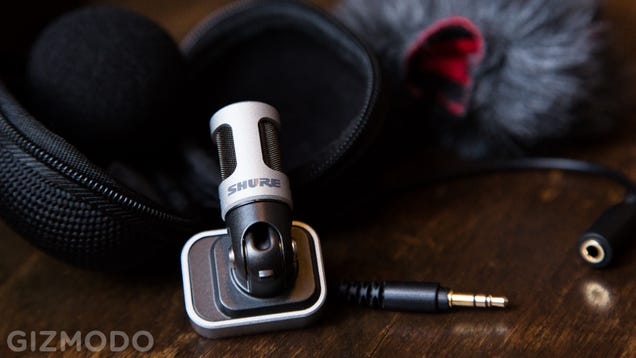 Shure Brings Its Legendary Microphone Chops to Your iPhone