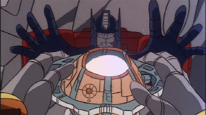"Image from G1 episode ""Dark Awakening"" courtesy of the Transformers Wiki"