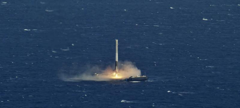 spacex drone ship landing - photo #15
