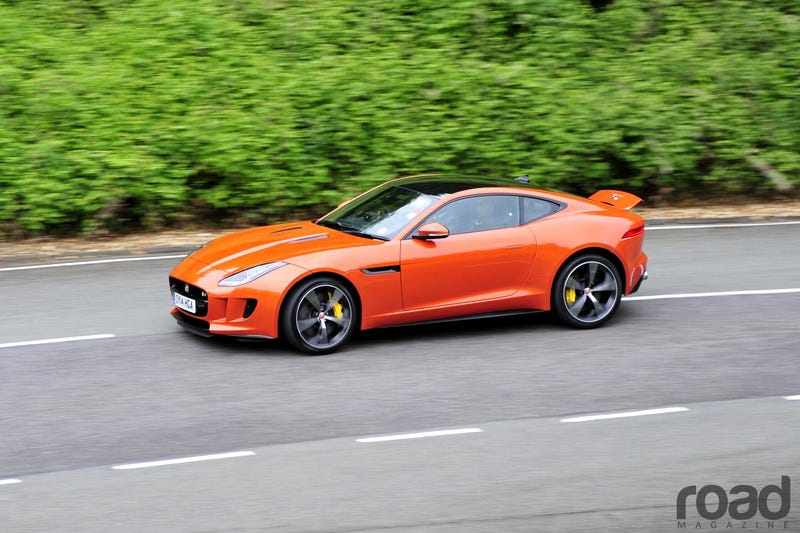 Illustration for article titled The 2014 Jaguar F-Type R Coupe Is The Most Beautiful Modern Car In the World