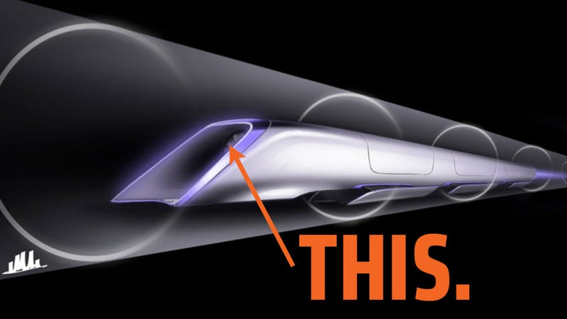 The Key Innovation That Makes The Hyperloop Work