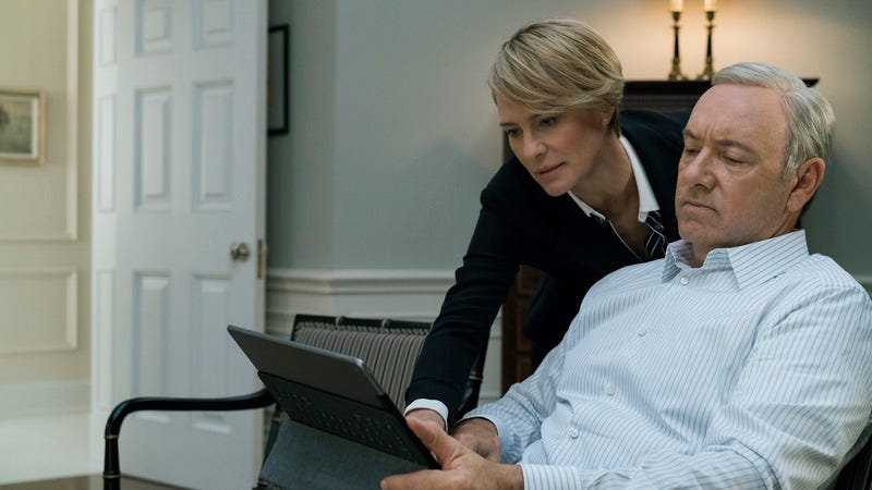 Robin Wright, Kevin Spacey/Netflix