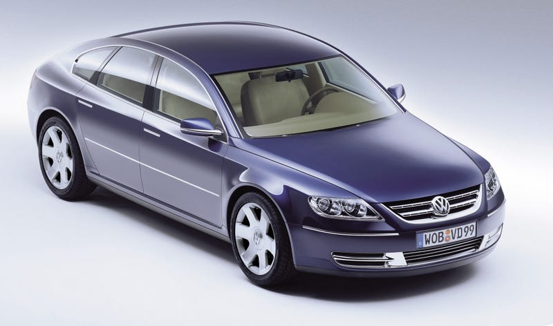 Illustration for article titled The Volkswagen Phaeton Concept Was Basically The Panamera