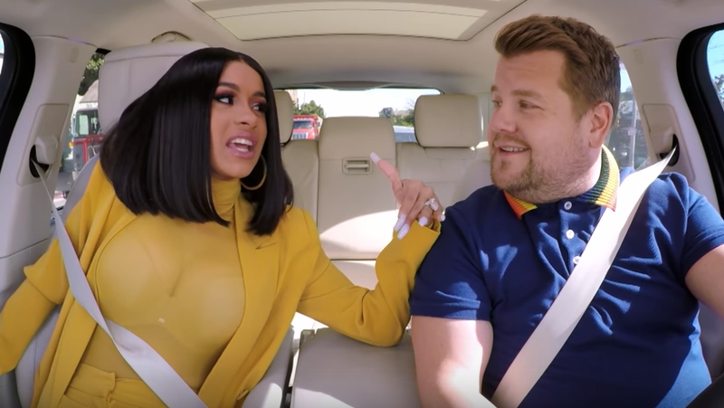 Carpool Karaoke with Cardi B
