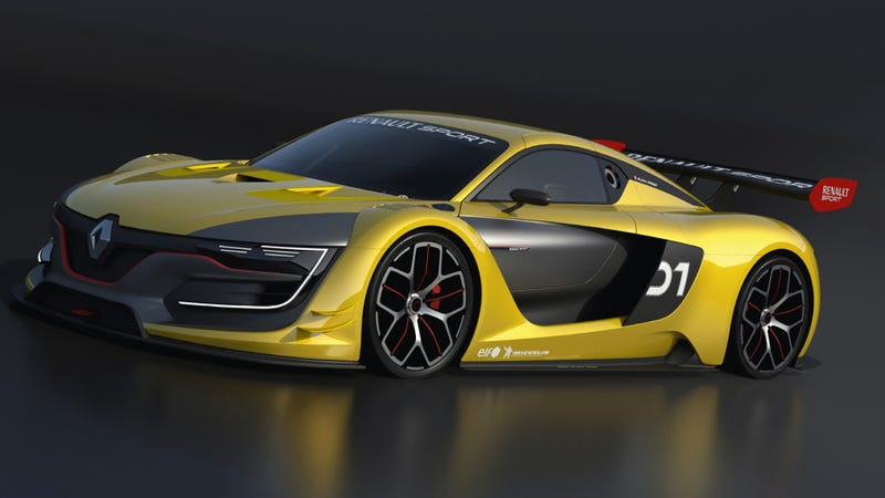 The Renaultsport R S 01 Is The Mid Engined Gt R You
