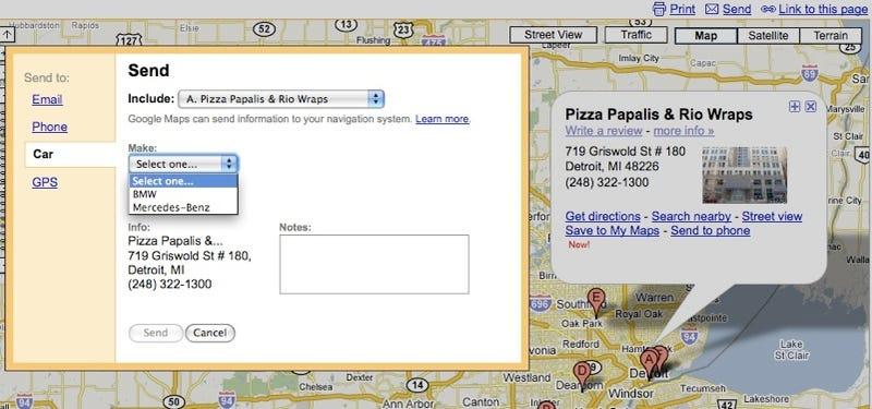 BMW ist, Google Maps Introduce