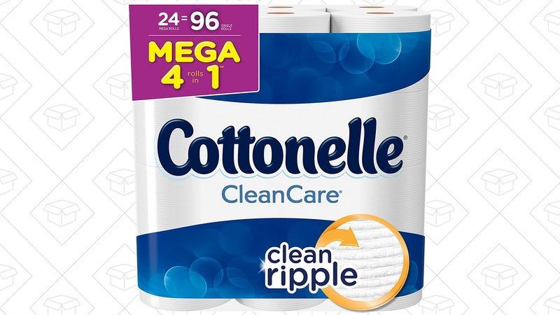24 Rolls Cottonelle Clean Care Toilet Paper | $18 | Amazon | Clip the 20% coupon