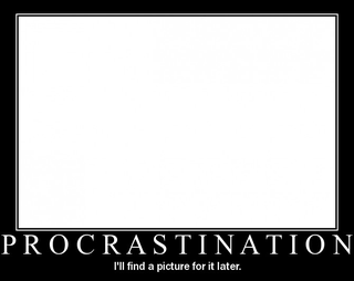 Illustration for article titled It's National Procrastination Week.