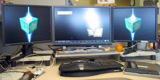 Illustration for article titled Make your own multi-monitor desktop wallpaper